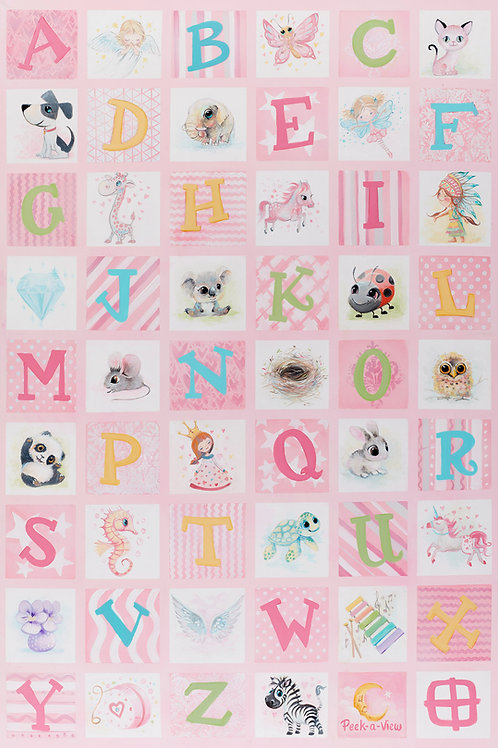 Alphabet Quilt - Bo's