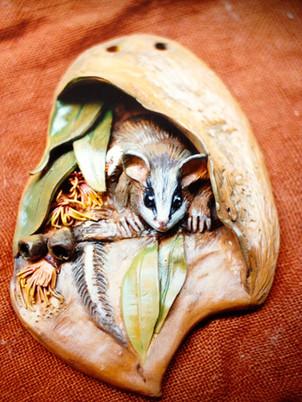 Possum Plaque