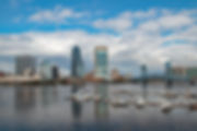 Florida City Landscape, Jacksonville City Landscape, Jacksonville Florida, St. Johns River Landscape, Downtown Jacksonville Florida