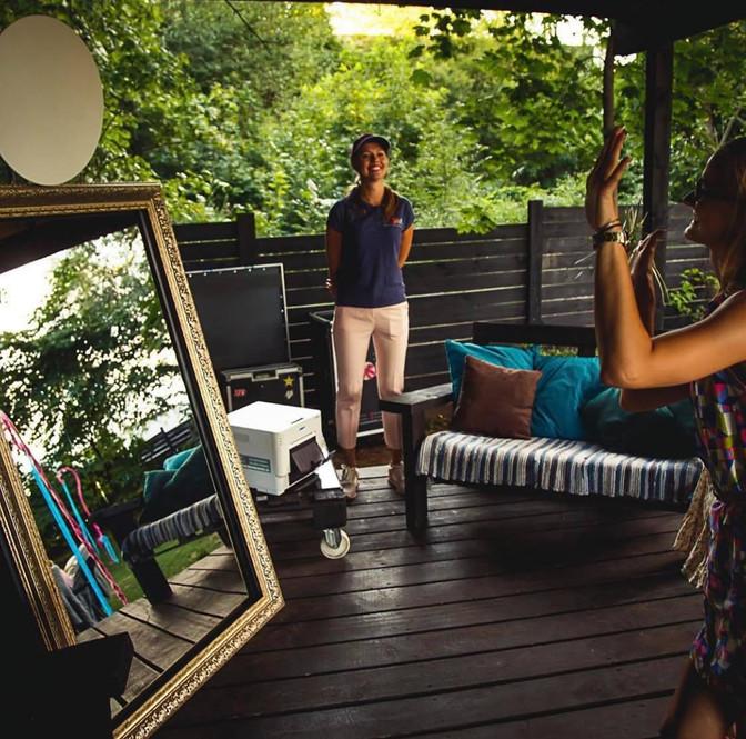 Selfie spogulis - foto būda