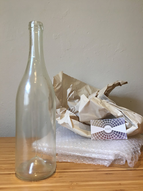 Wine Bottle, Clear 750ml