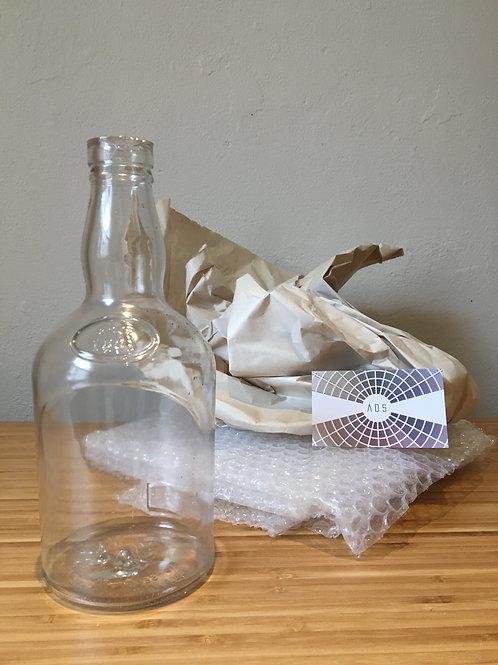 Whisky Bottle, Clear 700ml