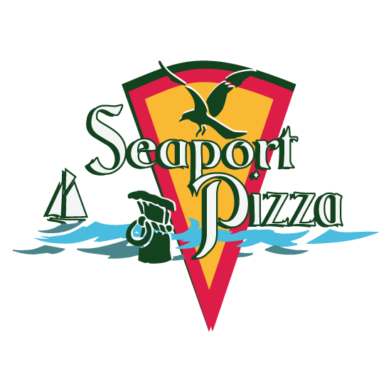 Seaport Pizza logo option 2