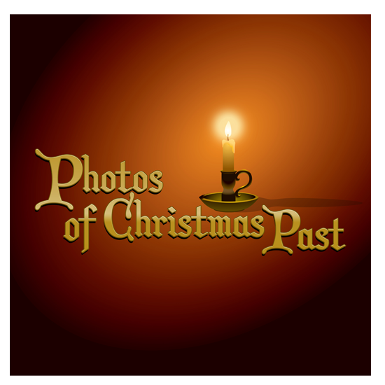 Photos of Christmas Past logo/sign