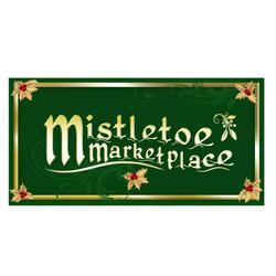 Mistletoe Marketplace logo/sign