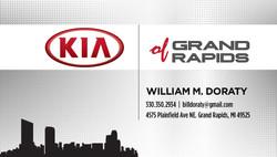 Kia of Grand Rapids Business Card