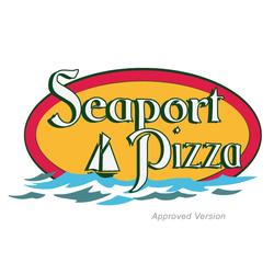 Seaport Pizza logo design