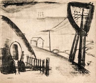 Ut mot havet, 1916-1917