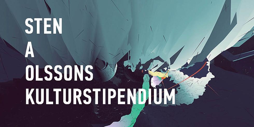 Sten A Olssons Kulturstipendium 2020