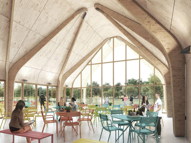 Cambridge Food Hub Concept - David Miller Architects