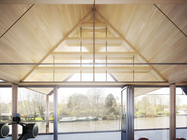 Boathouse River Thames - Jeremy Bailey Architects with Baynes and Mitchell Architects