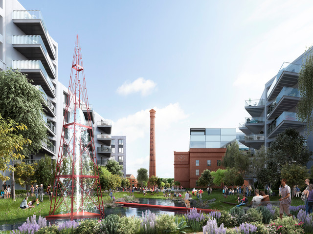 Residential Masterplan - Sheppard Robson