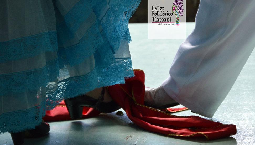 Detalle del baile folclórico La bamba