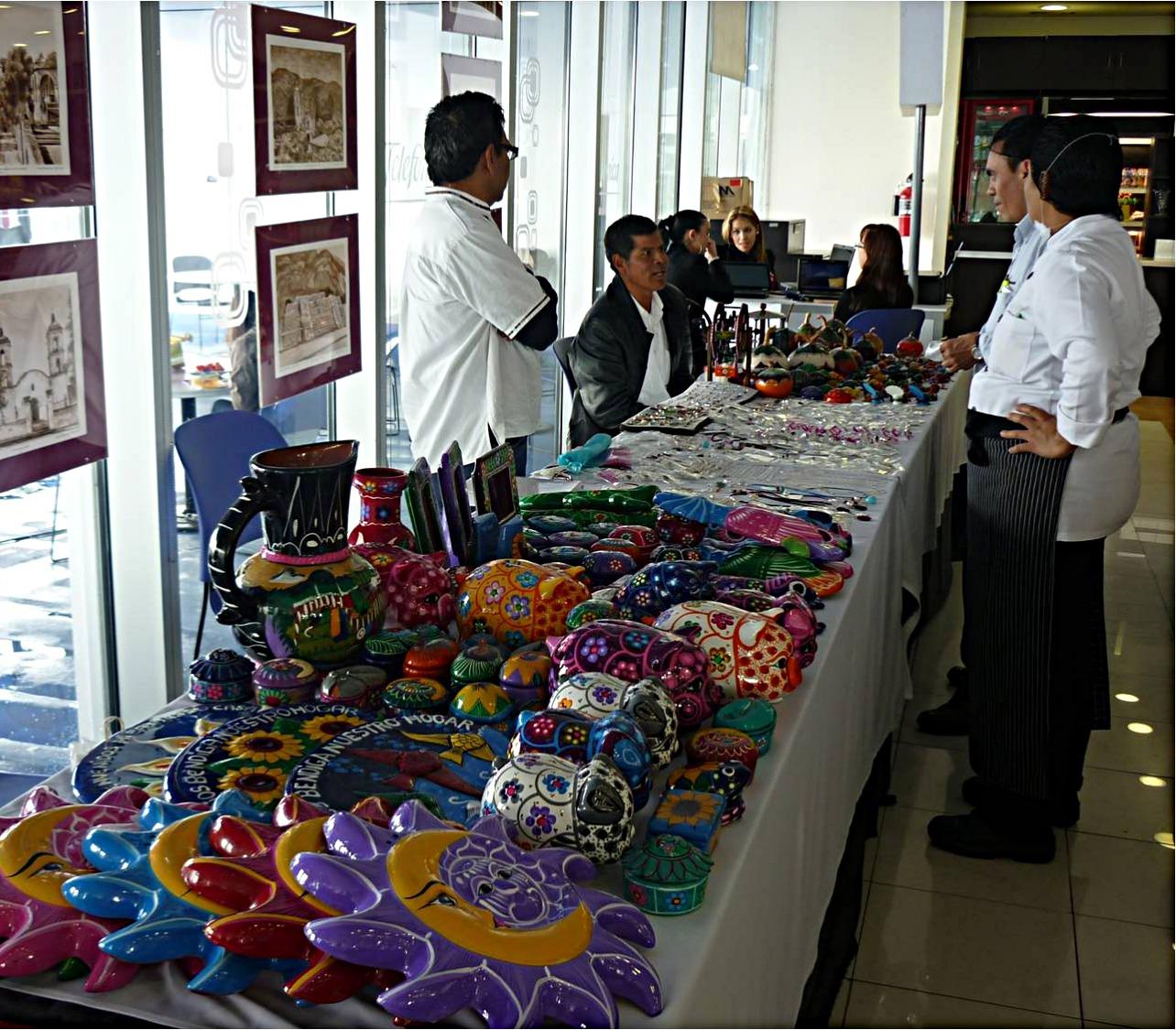 Expo venta artesanías