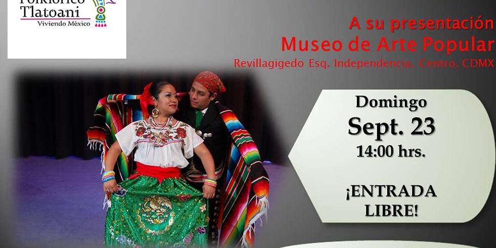 Ballet Folklórico Tlatoani  Presenta  Recorriendo México