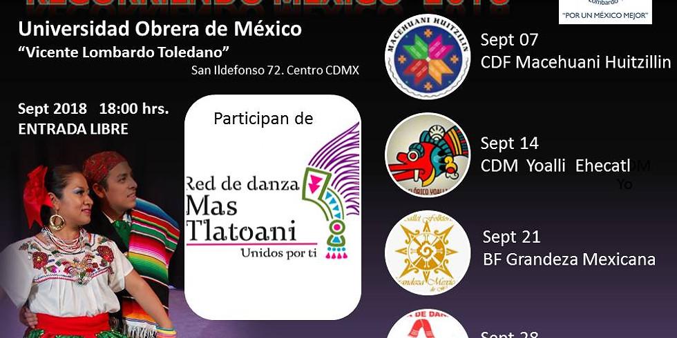 Festival Recorriendo México 2018