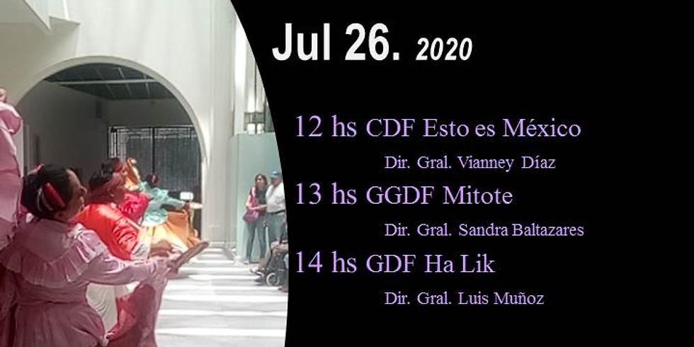 6to. Festival Mitotl. Jul 26