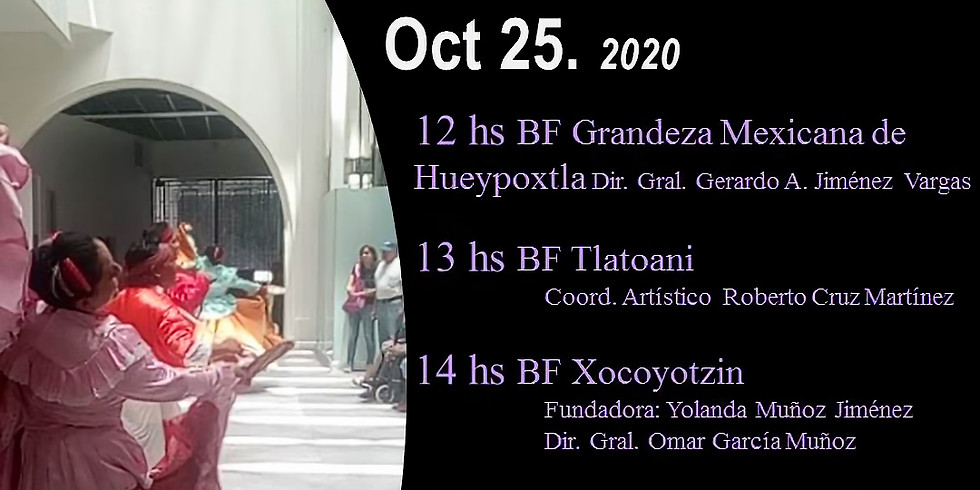 6to. Festival Mitotl. Oct 25.