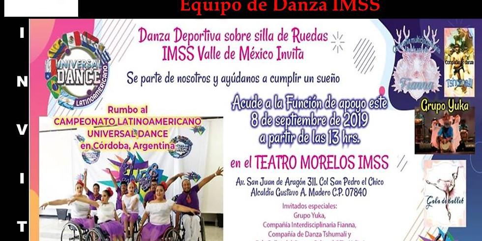 Función a Beneficio Equipo Danza IMSS