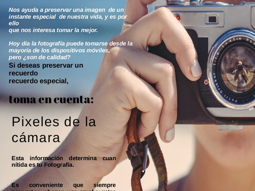 TIP Oct 2019. Importancia de la Fotografía.