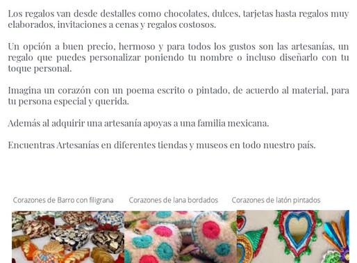 Amor con Artesanía. Feb 2020.