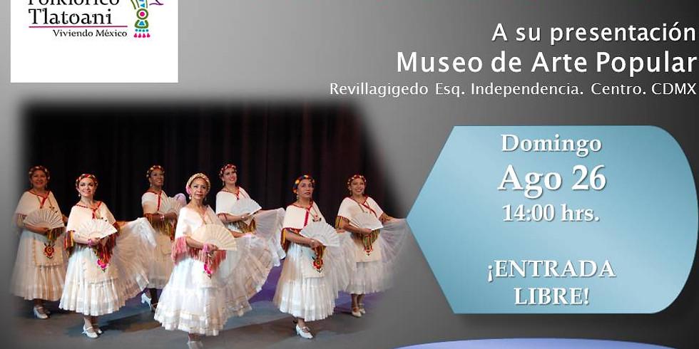 Ballet Folklórico Tlatoani  Invita