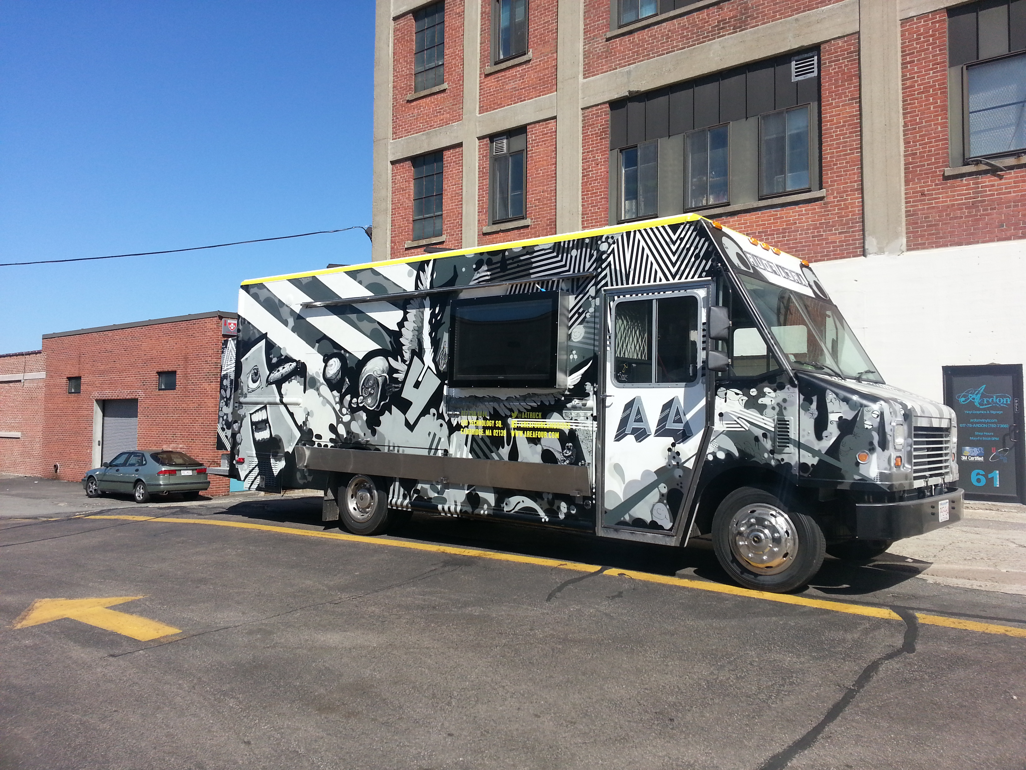 Full wrap for food truck A4