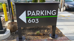 Parking WayFinding Sign 603 Concord