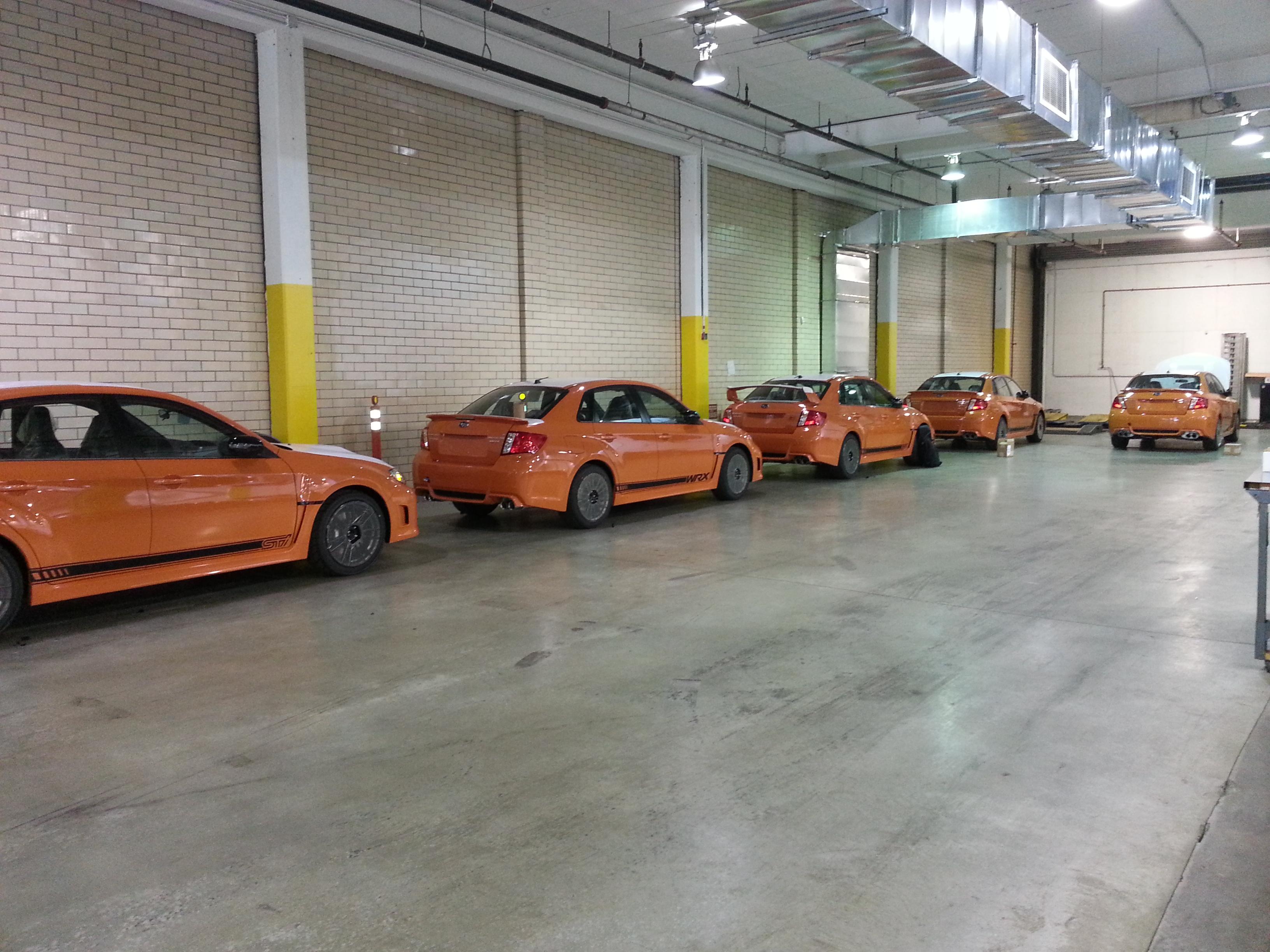 Subaru Fleet Installation 3M 1080