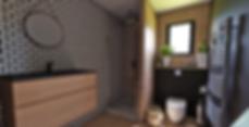 Salle de bain appartement 100% masculin