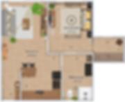 Plan appartement 100% masculin