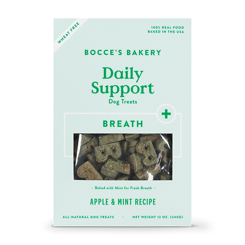 Bocce's Breath Biscuits