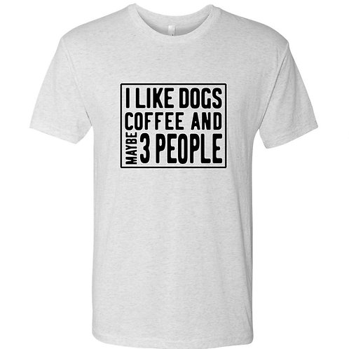 Coffee and Dogs t-shirt