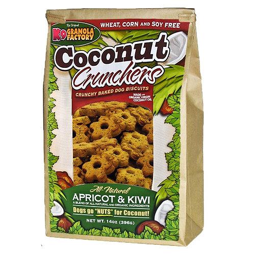 Coconut Crunchers Apricot & Kiwi