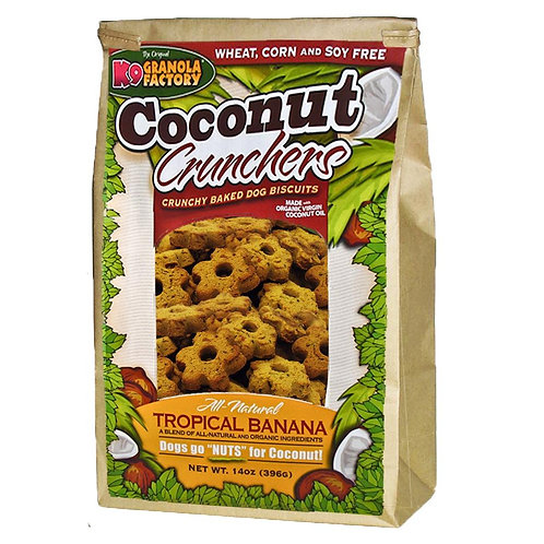 Coconut Crunchers Tropical Banana