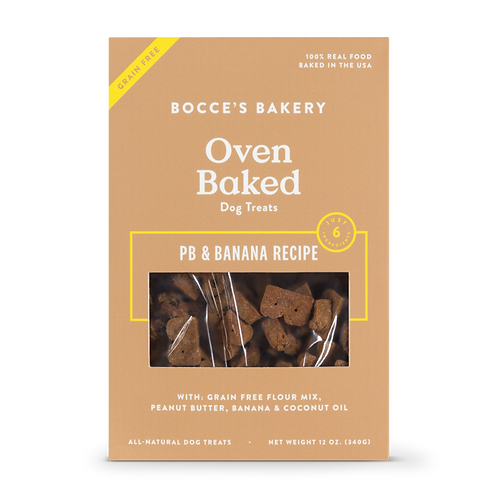 Bocce's Grain Free PB & Banana Biscuits