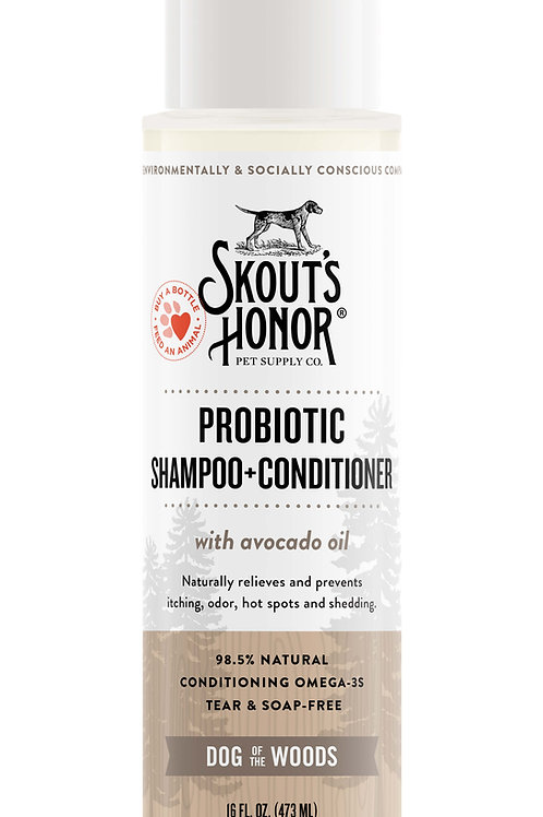 Probiotic Shampoo/Conditioner for Dogs and Cats