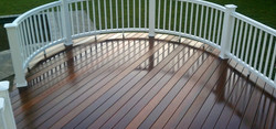 image of decking on porch