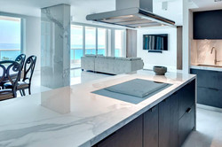Pic of solid surface in kitchen