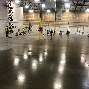 Sealed Concrete Floors