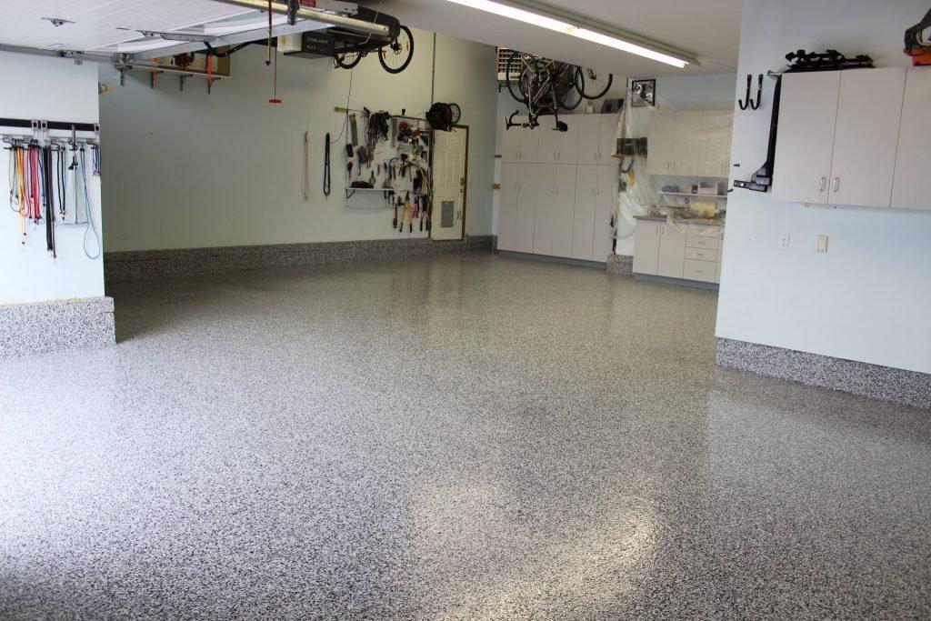 Epoxy Flake Garages