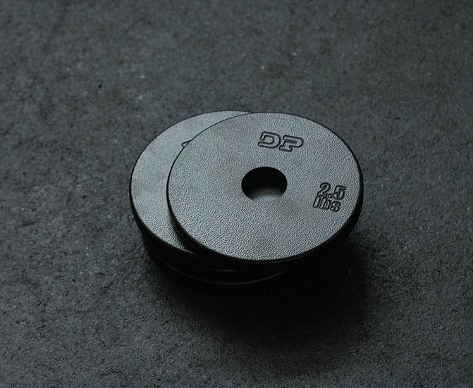Dumbbell Pépin 2.5lbs Steel plate            ( set of 4 )