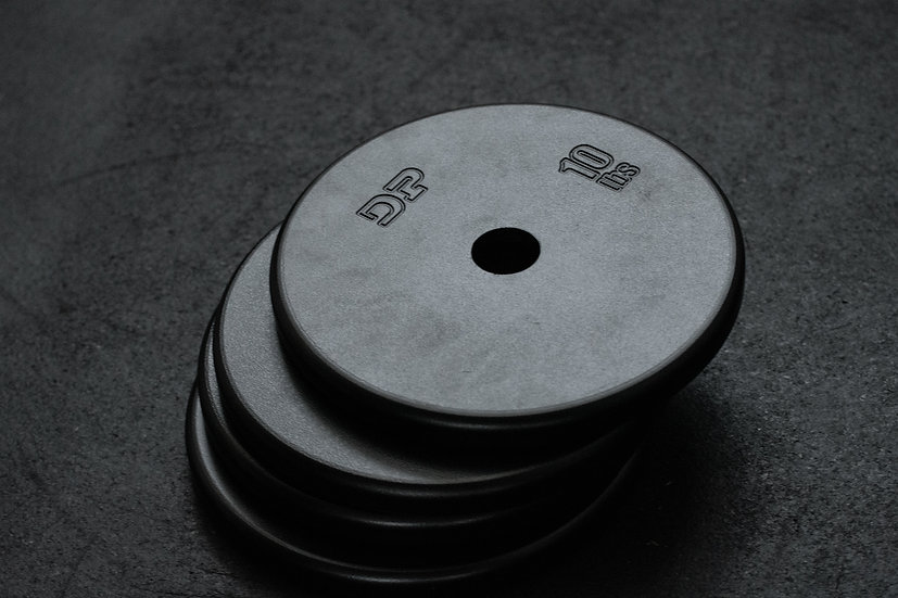 Dumbbell Pépin 10lbs Steel plate   ( set of 4 )