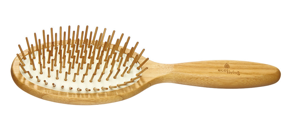 Bamboo Hair Brush - EcoLiving