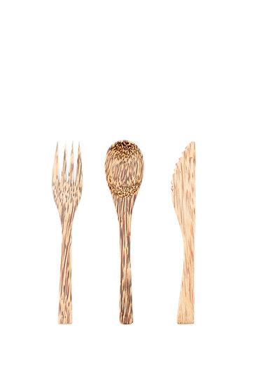 Coconut Cutlery Set