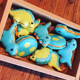 🦖 🦕 MORE CUTE DINOSAUR MACARONS 🦕🦖 F