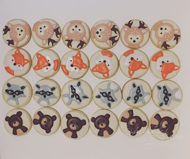 BIRTHDAY COOKIE FAVOURS 🦊 🐻 🦌 _Flavou