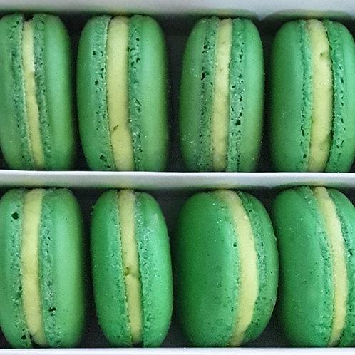 Lime Mojito Macarons