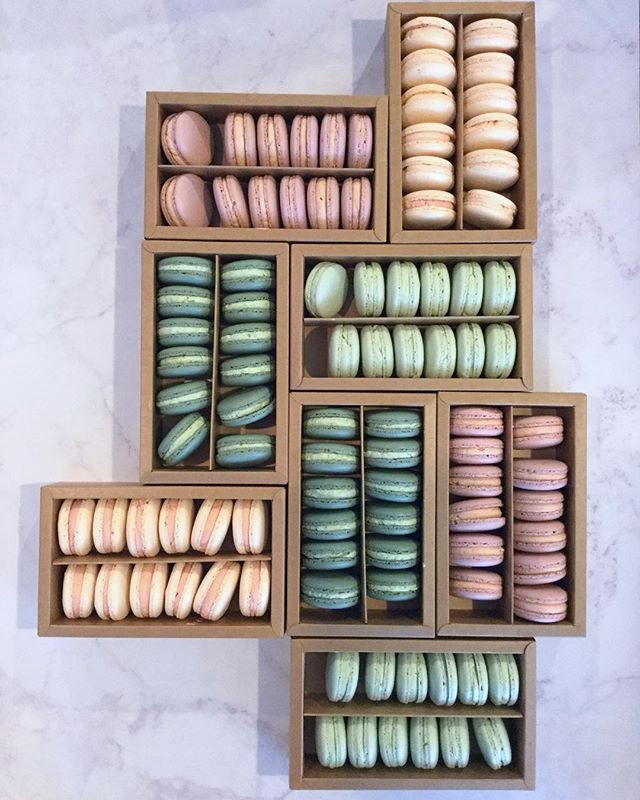 BONNIE'S 21ST BIRTHDAY MACARONS__When th