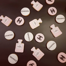 CHANEL'S NAMING DAY DESSERT TABLE__Chane